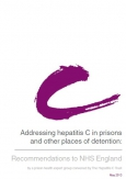 Addressing hepatitis C in prisons and other places of detention